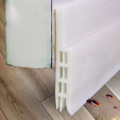 Door Sweep Weather Stripping Under Door Sweep Weather Stripping Door Bottom Seal Strip Door Draft Stopper by CooZero