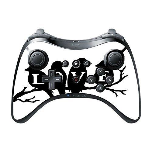 Compass Litho Orcas Wii U Controller Vinyl