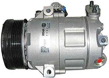 BEHR HELLA SERVICE 8FK 351 134-591 Compresor, aire acondicionado: Amazon.es: Coche y moto