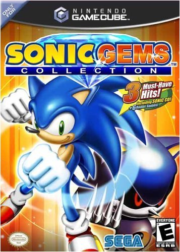 Sonic Gems Collection Gamecube game cube