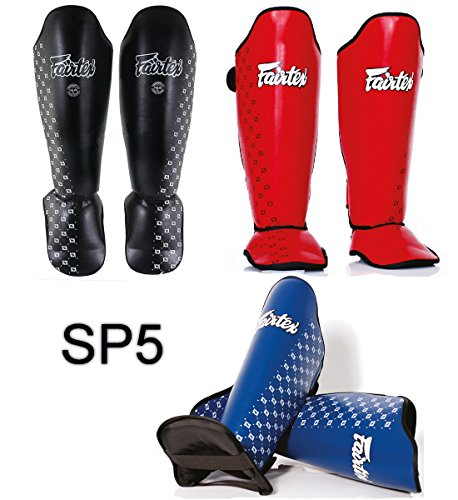 FAIRTEX SP5 COMPETITION SHIN PADS GUARDS PROTACTIVE GEAR BOXING MARTIAL ART KICKBOXING