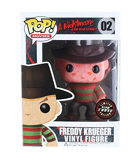 Pop! Horror A Nightmare on Elm Street s Freddy Krueger Vinyl Figure (Chase!!) by Funko