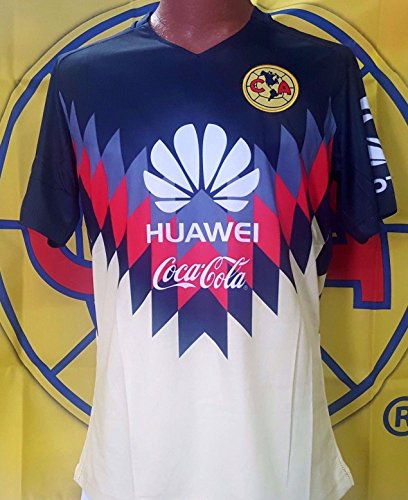 Replica Generic Home Jersey - New! Club Aguilas del America Home Generic Replica Adult Jersey Size Small..