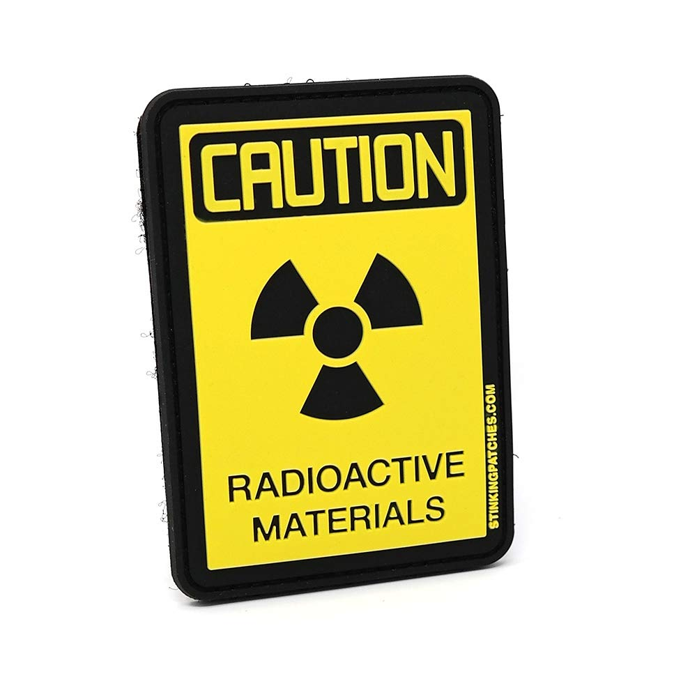 3-inch Diameter Sutter Signs Nuclear Radiation Warning Symbol Stickers Pack of 4 Decals Individually Die-Cut