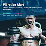 Heart-Rate-Monitor Chest-Strap Beat 20 Rechargeable Fitness Tracker with Vibration Alert, Bluetooth & ANT+ Activity Tracker, IP68 30m Waterproof, 100 Sessions Memory for iOS & Android