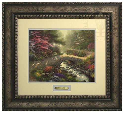 Bridge of Faith - Thomas Kinkade Prestige Home Collection (Silver Frame) by Thomas Kinkade