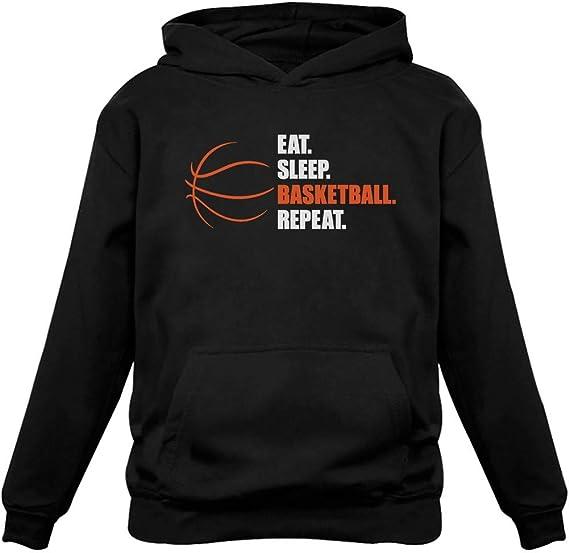Eat Sleep Basketball Repeat Basket-ball Cadeau D/ébardeur