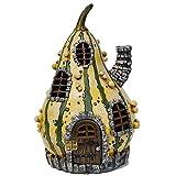 Miniature Fairy Garden Fiddlehead Striped Gourd Fairy Home For Sale