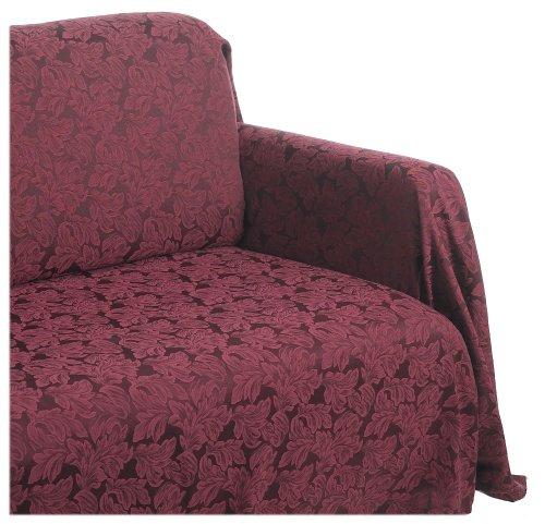Amazon.com: Style Master Ibiza Damask Leaf Jacquard Sofa ...