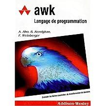 awk: langage de programmation