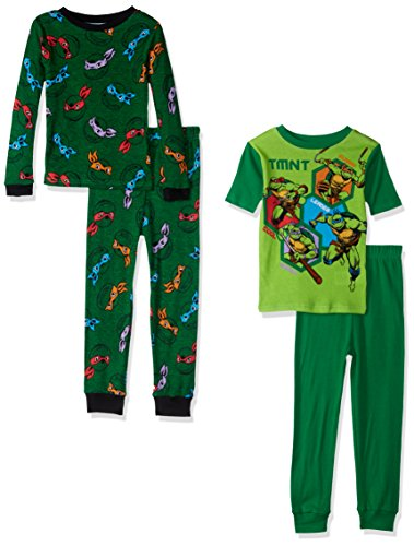 Nickelodeon Boys' Teenage Mutant Ninja Turtles Cotton Pajama Set