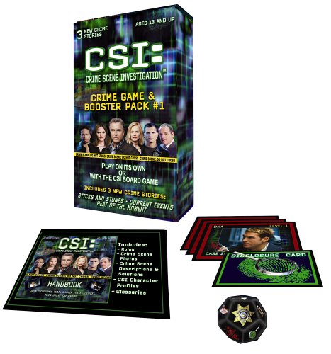 Specialty Board Games, Inc. CSI: Crime Game Booster Pack SG_B00061I4ZQ_US