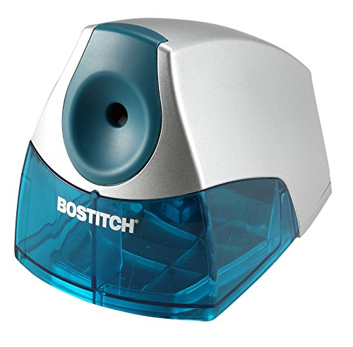 Bostitch Personal Electric Pencil Sharpener, Blue (EPS4-BLUE) (Best Classroom Pencil Sharpener)