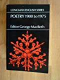img - for Poetry 1900 to 1975 book / textbook / text book