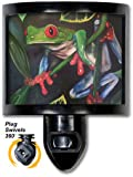 Decorative Night Light Red Eyed Tree Frog Frog