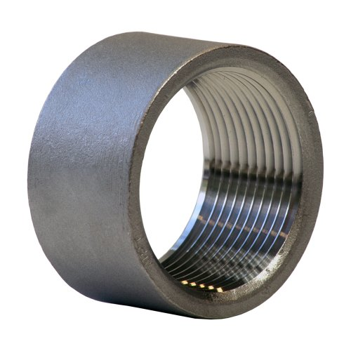 Half Coupling (Stainless Steel 304 Cast Pipe Fitting, Half Coupling, Class 150, 1