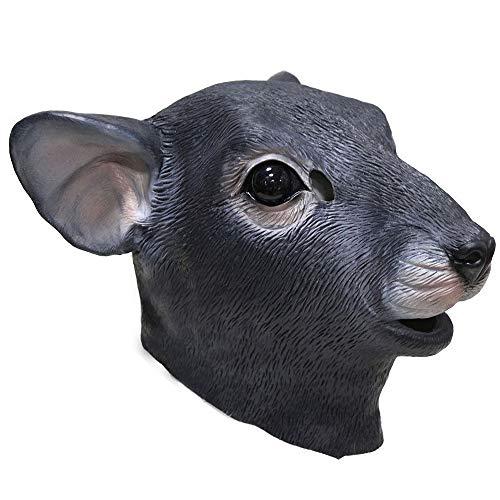 (Halloween Full Head Latex Animal Masks Party Costume Fancy Dress (Mouse Rat)
