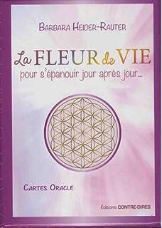 Amazon Fr La Fleur De Vie 52 Cartes Oracle Pour Se Connecter A