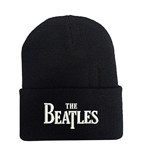 Beatles   Black Beanie Hat Souvenier Gift Unique cfb96510e194