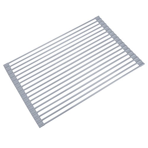 VIPITH Roll-Up Dish Drying Rack Over the Sink Multipurpose D