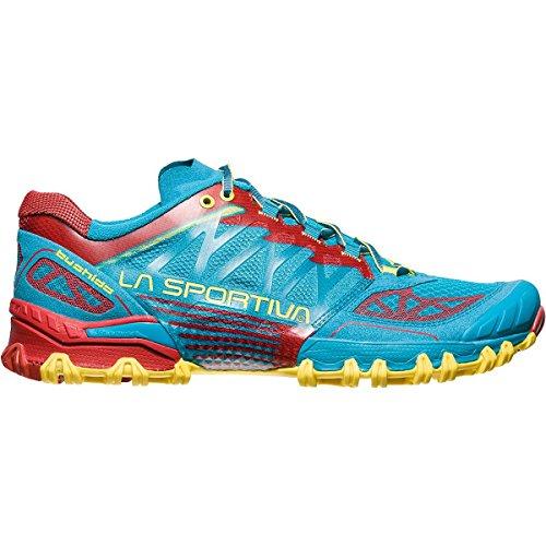 La Sportiva Mutant Trail-schoenen Voor Dames Trail - Ss18 Bushido Tropic Blue / Cardinal Red Talla: 41.5