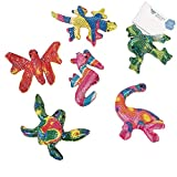Bargain World Glitter Stuffed Animals (With Sticky Notes)