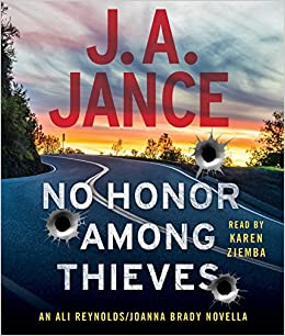 Image result for no honor among thieves ja jance cd
