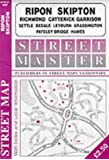 Ripon, Skipton, Richmond, Catterick, Leyburn, Hawes, Bedale, Grassington, Settle, Patley Bridge (Streetmaster Street Maps)