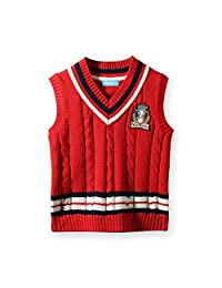 MMX Boys Kids School Uniforms Sweater Sleeveless Vests