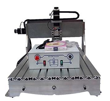 GOWE CNC para tallar madera máquina CNC de la carpintería Router con pelota de rosca: Amazon.es: Bricolaje y herramientas