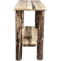 Montana Woodworks MWGCETCS Glacier Country Collection Chairside Table