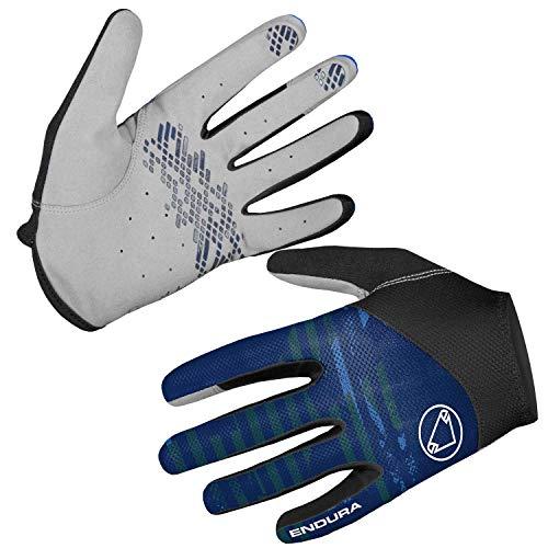 Endura Men's Hummvee Lite Full Fingered Cycling Glove II Navy, Medium