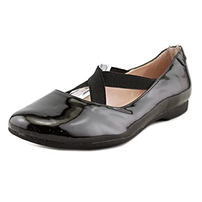 buy cheap really high quality cheap online Taryn Rose Leather Round-Toe Flats on hot sale 00ge40z