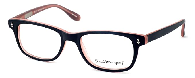 c961c1b548fa Ernest Hemingway Eyeglass Collection 4617 in Matte Black Pink   Demo Lens
