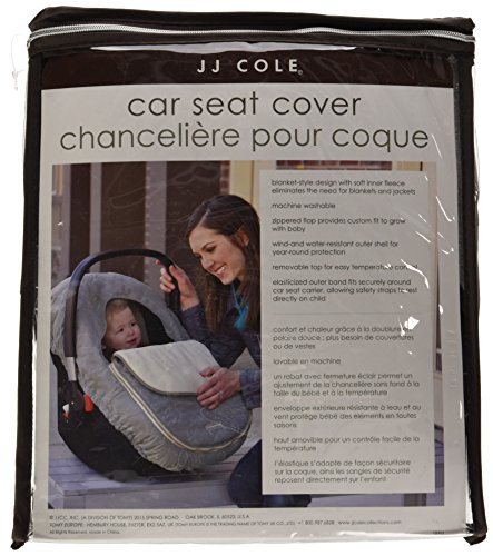 JJ Cole Car Seat Cover Black Free Shipping