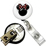 Disney Girl Disney Boy Symbol Real Charming Premium Decorative ID Badge Holder (Disney Girl Key-BAK)