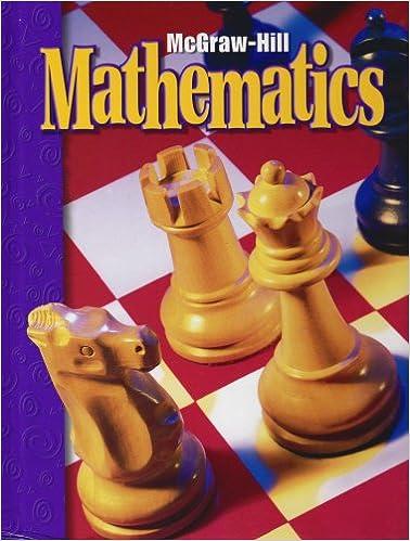 Mcgraw Hill Mathematics Grade 6 Mcgraw Hill 9780021001293 Amazon