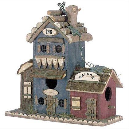 Inn and Salon Birdhouse