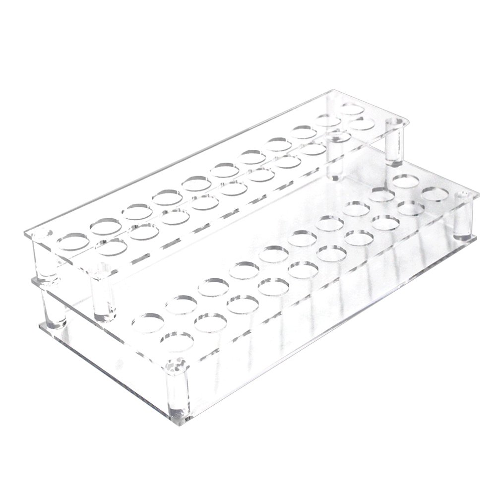 Erlvery DaMain Transparent 41 Spaces Acrylic Lipsticks Holder-storage Cosmetic/Organizer Display/Showcase