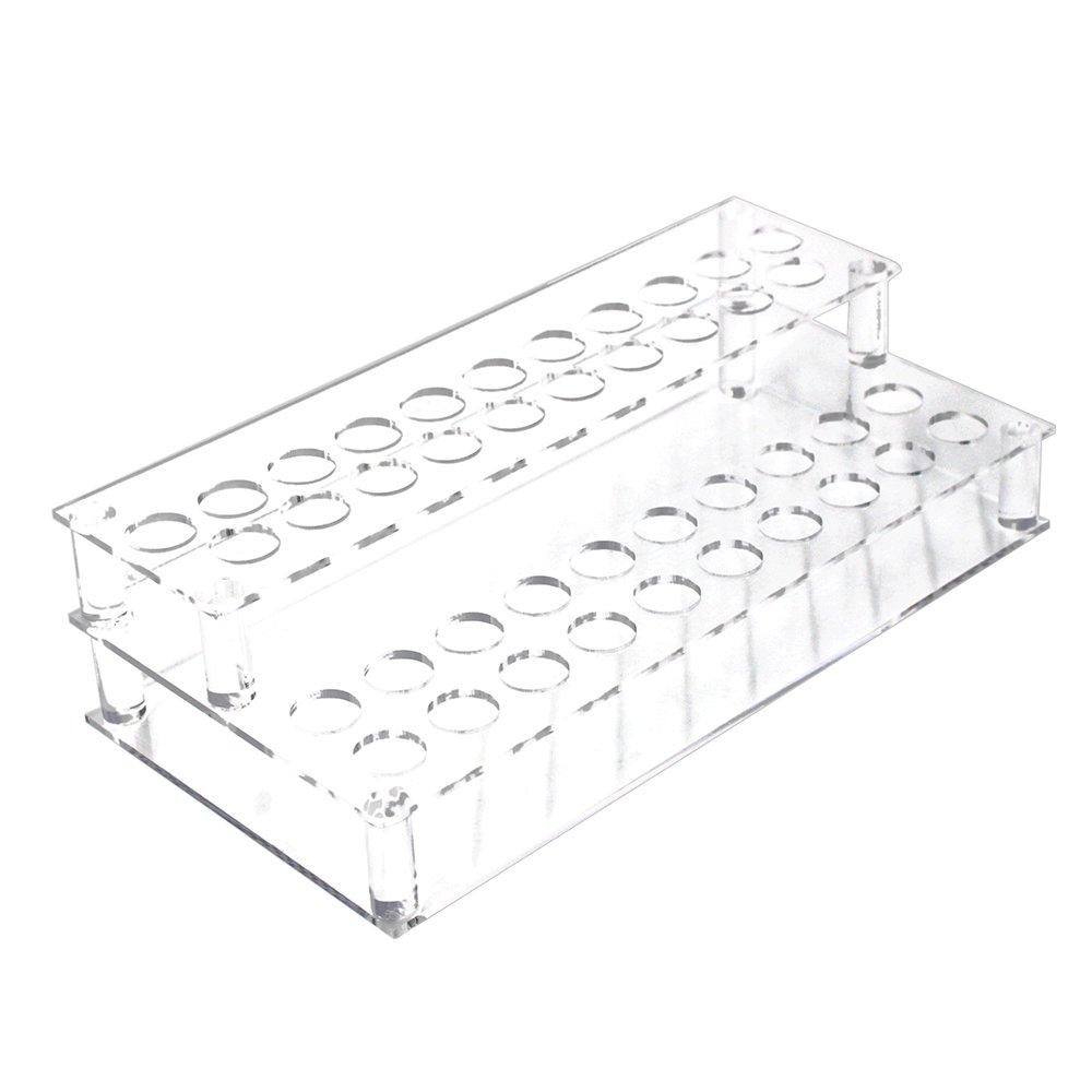 Erlvery DaMain Transparent 41 Spaces Acrylic Lipsticks Holder-storage Cosmetic/Organizer Display/Showcase