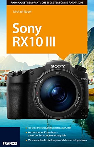 Price comparison product image Foto Pocket Sony RX10 III