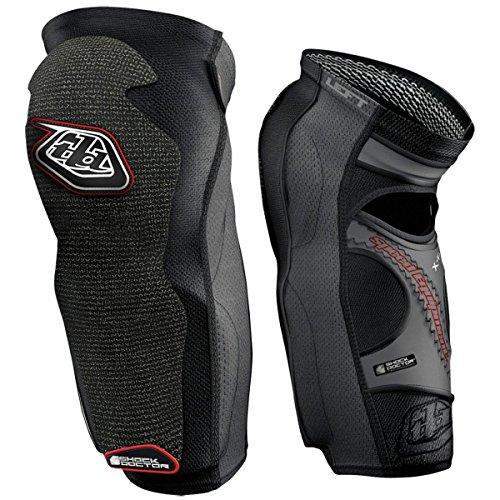 (Troy Lee Designs KG 5450 Knee/Shin Guard Solid Black, L)