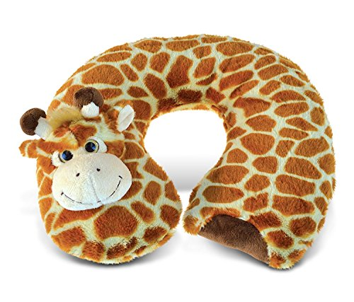 Giraffe Super-Soft Stuffed Plush Travel Neck Pillow Cuddly