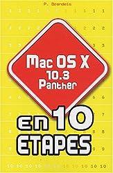 Mac OS X.3 Panther en 10 étapes
