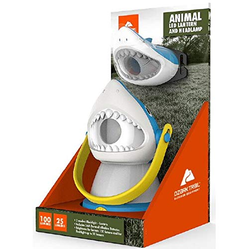 Ozark Trail Outdoor Equipment LED Lantern & Headlamp Set – Shark