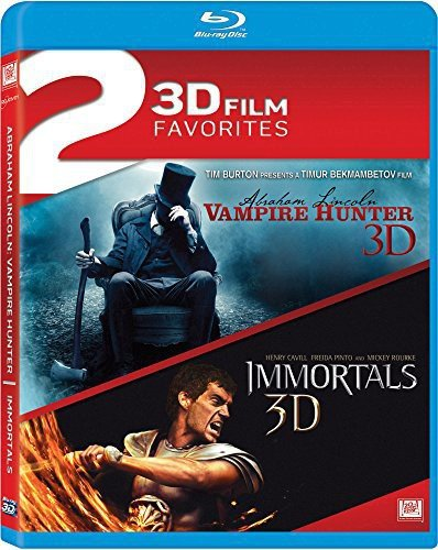 Abraham Lincoln: Vampire Hunter / Immortals Double Feature Blu-ray 3d