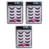 15 PAIRS - Ardell Fashion Lashes- 5 Pairs/Pack 101 Demi - FREE APPLICATOR