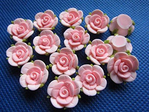 (YYCRAFT Pack of 30pcs Plasticine Rose 5/8