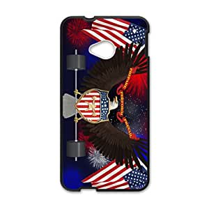 US flag and eagle sign Cell Phone Case for HTC One M7