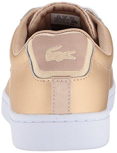 Lacoste Vrouwen Carnaby Evo 118 1 Spw Sneaker Goud / Wit